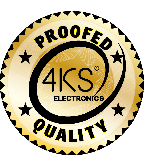 4KS® Electronics Proofed Quality Trust- Siegel